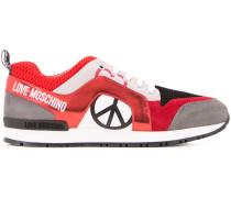 Sneakers mit Peace-Zeichen-Print - women