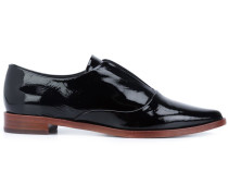 Loafer mit spitzer Kappe - women - Lackleder