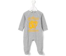 - Pyjama mit Tiger-Print - kids - Baumwolle - 6-9