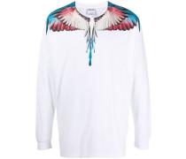Langarmshirt mit Flügel-Print