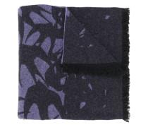 Schal mit Schwalben-Print