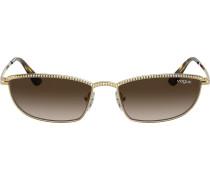 Verzierte 'Taura' Sonnenbrille