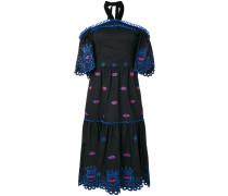 Schulterfreies 'Calligraphy' Kleid