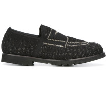 Loafer mit Lurexdetails - women