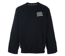 Sweatshirt mit Brust-Patch - men - Baumwolle - L