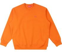 Sweatshirt mit kleinem Logo