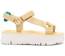 Klassische Flatform-Sandalen