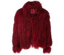 'Mongolian' fur jacket