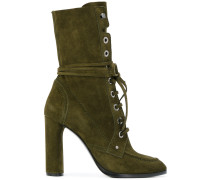 laceup ankle boots