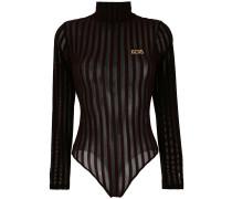 velvet stripe high neck body