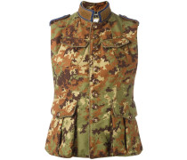 'Runway Livery Tenent' Weste mit Camouflage-Print