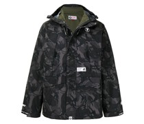 AAPE BY *A BATHING APE® Camouflage-Jacke im Layering-Look