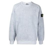Frottee-Sweatshirt mit Logo-Patch