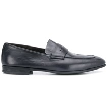 slim almond-toe loafers
