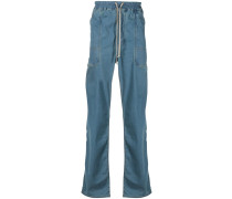 Jeans mit tiefem Schritt