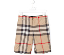 new classic check shorts