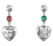 Blind for Love Ohrringe aus Silber