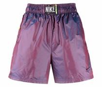 Shorts im Metallic-Look