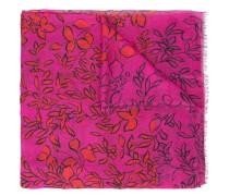 Schal mit Blumen-Print - women - Modal/Kaschmir