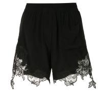 Shorts mit Wellensaum