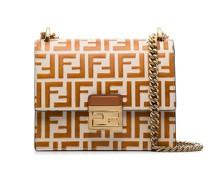 brown Kan U small leather bag