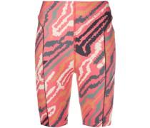Shorts mit Zebramuster