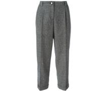 Gekürzte Tweed-Hose - women