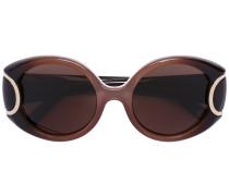 'Signature' Sonnenbrille - women - Acetat/metal