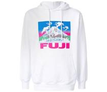 "Kapuzenpullover mit ""Fuji""-Print"