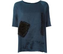 Verziertes T-Shirt - women - Baumwolle - M