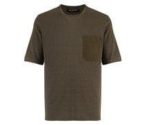 Travel T-Shirt mit Brusttasche