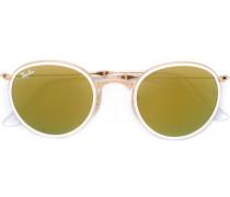 Klappbare Sonnenbrille mit rundem Gestell