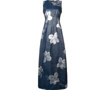 Florales JacquardKleid mit Reißverschluss