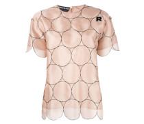 T-Shirt mit gewelltem Saum - women - Seide - 38