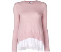 Pullover mit Plisseesaum