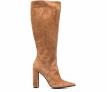 Megan block heel knee boots