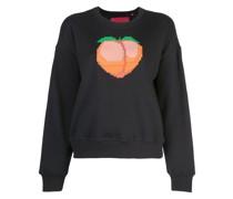 Sweatshirt mit Pfirsich