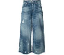 Jeans mit weitem Bein - women - Baumwolle - 26