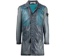 Packbare Jacke mit Sheer-Effekt