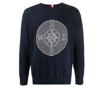 Pullover mit Kompass