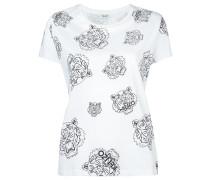 - T-Shirt mit Tiger-Print - women - Baumwolle - M