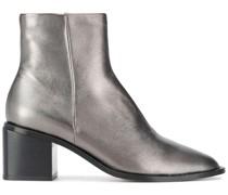 'Xenia' Stiefeletten im Metallic-Look