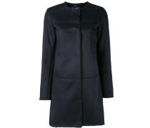 Einreihiger Mantel - women - Polyester - 46