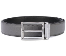classic buckled belt - men - Leder