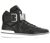 High-Top-Sneakers mit Logo-Schild - men