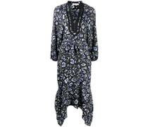Kleid mit zipfeligem Saum