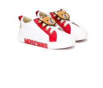 Sneakers mit Teddybär-Patch