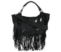 Babe Wire fringed hobo bag - women
