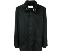 stowaway hood parka coat