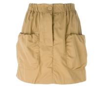 Minirock mit aufgesetzten Taschen